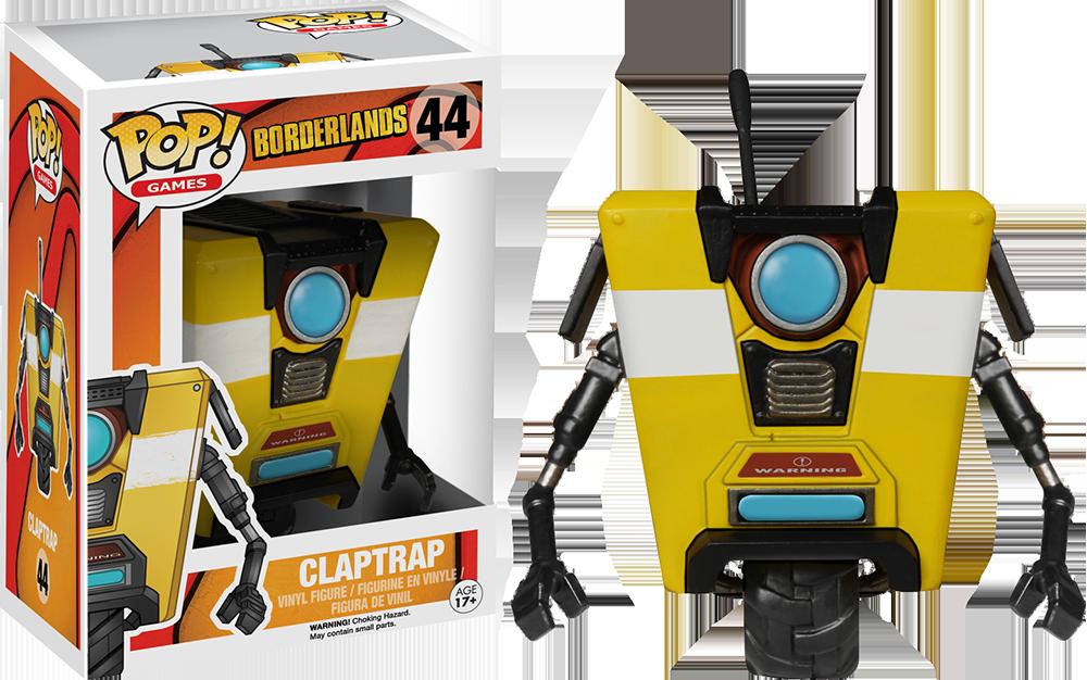 Funko Pop: Borderlands - Claptrap