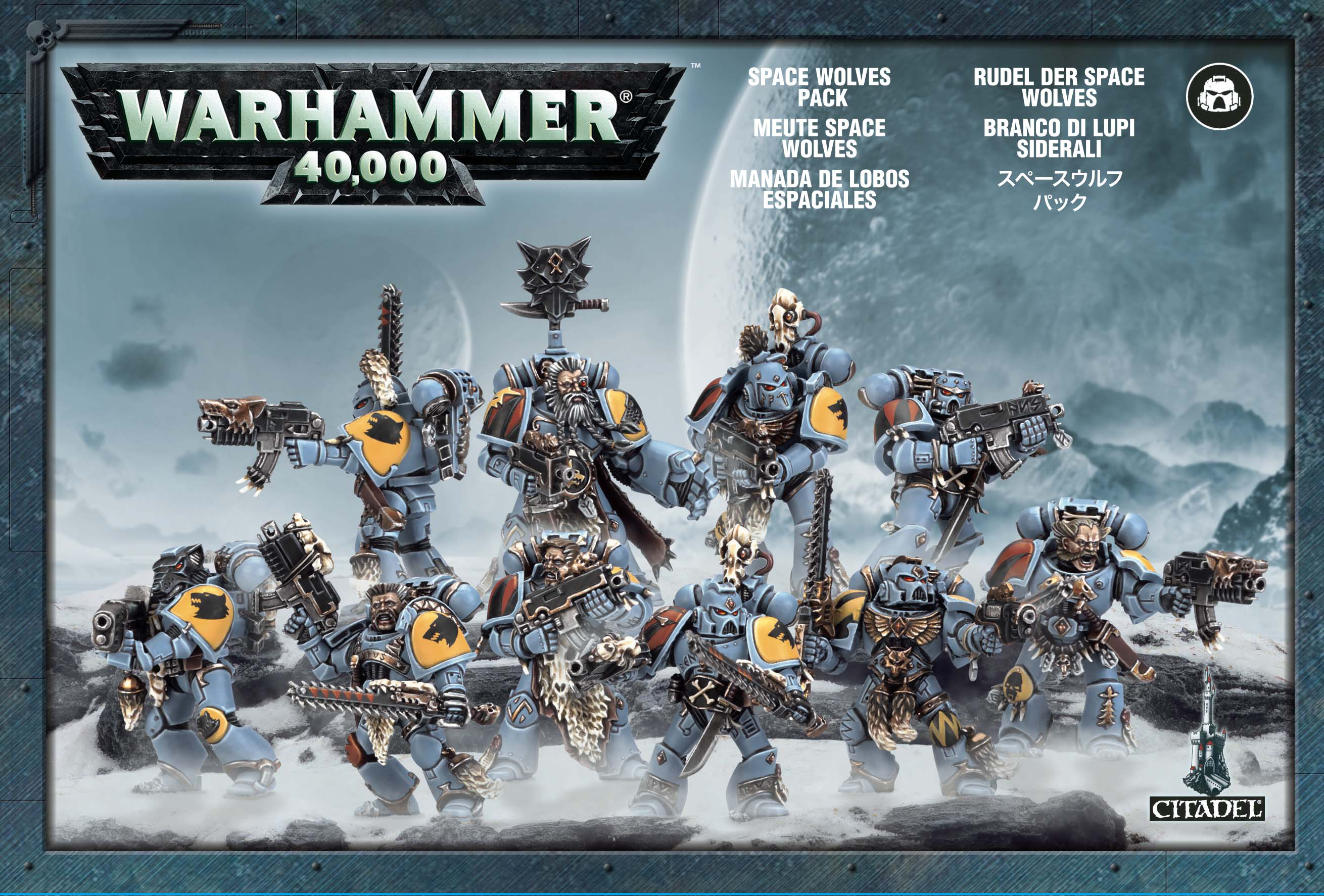 Warhammer: Space Wolves Pack imagine