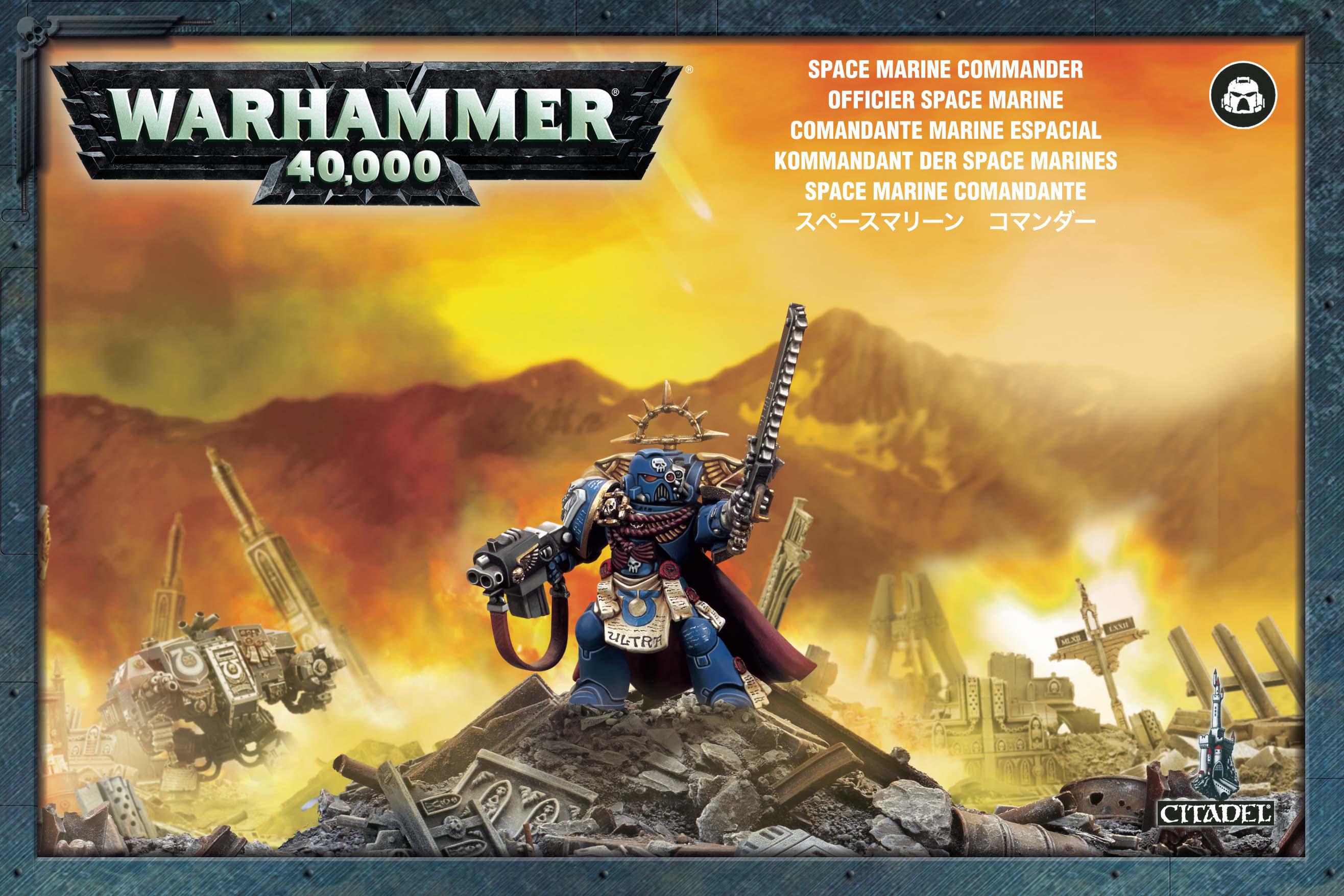 Warhammer: Space Marines Commander imagine