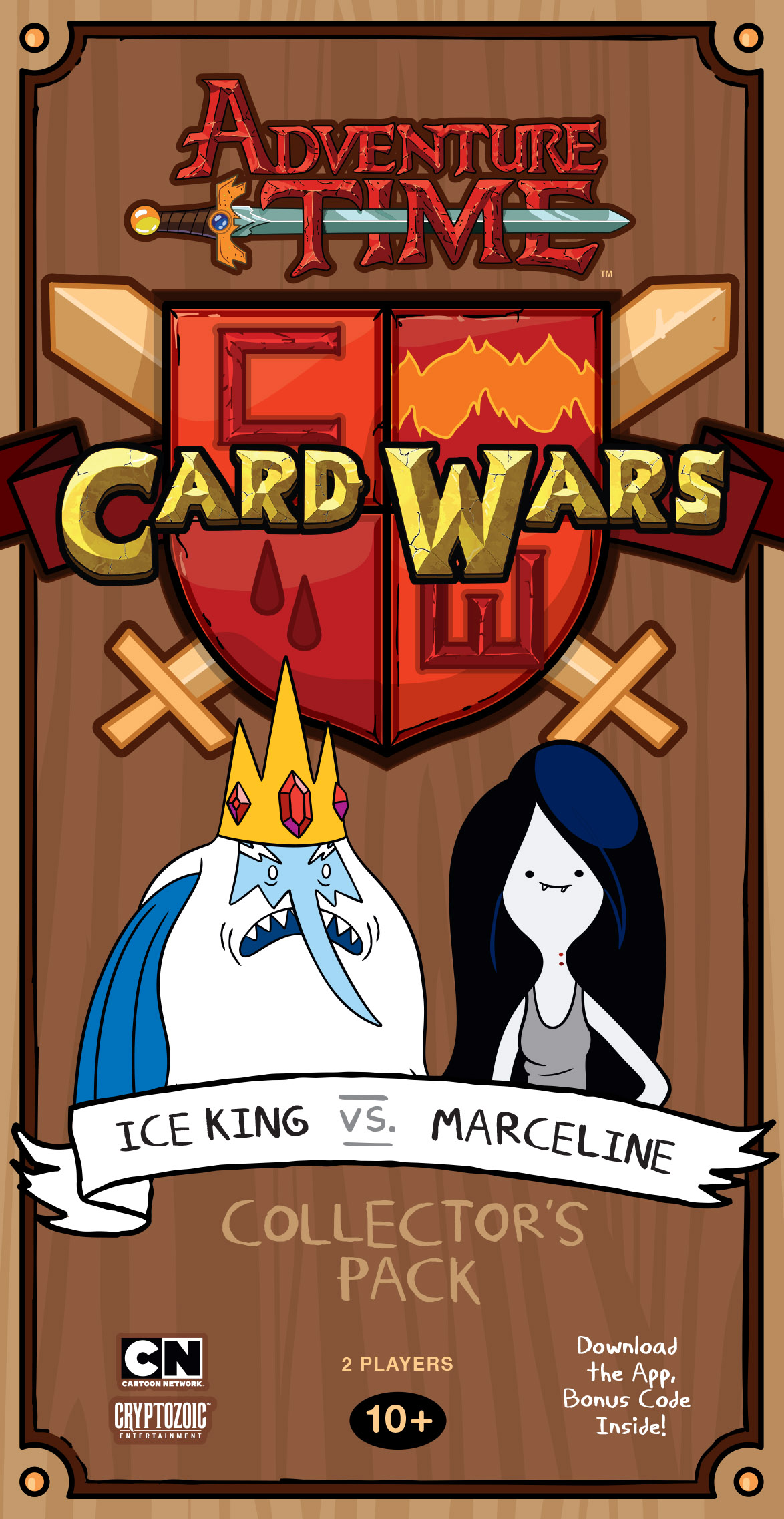 Adventure Time Card Wars: Ice King vs. Marceline imagine