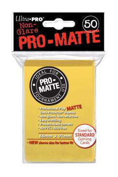 Ultra PRO Sleeves: Pro-Matte Standard (50) Albastru deschis