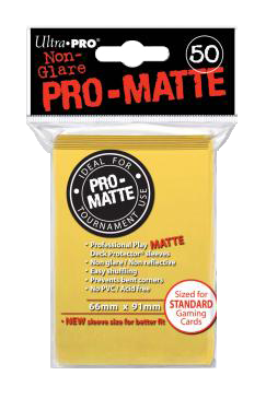 Ultra PRO Sleeves: Pro-Matte Standard (50) Maro