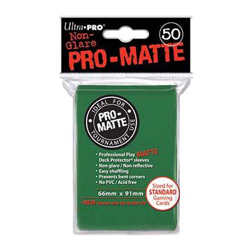 Ultra PRO Sleeves: Pro-Matte Standard (50) Negru - 1