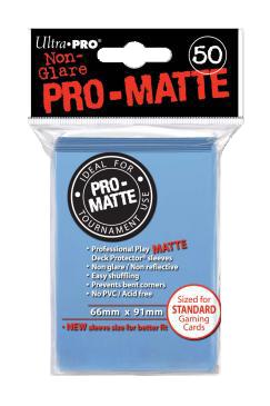 Ultra PRO Sleeves: Pro-Matte Standard (50) Negru - 5