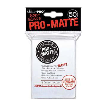Ultra PRO Sleeves: Pro-Matte Standard (50) Negru - 6