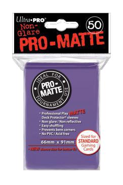 Ultra PRO Sleeves: Pro-Matte Standard (50) Negru - 7