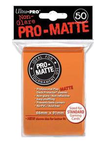 Ultra PRO Sleeves: Pro-Matte Standard (50) Negru - 9