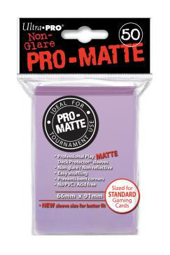 Ultra PRO Sleeves: Pro-Matte Standard (50) Negru - 10