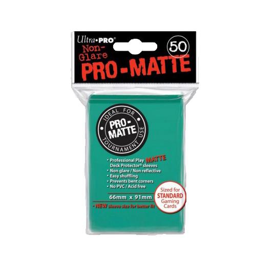 Ultra PRO Sleeves: Pro-Matte Standard (50) Negru - 13
