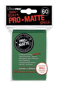 Ultra PRO Sleeves: Pro-Matte Small (60) Mov