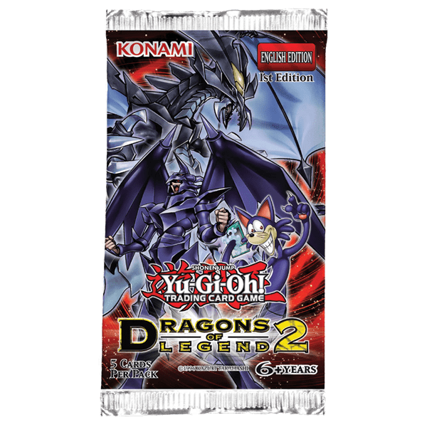 Yu-Gi-Oh!: Dragons of Legend 2 - Booster Pack imagine