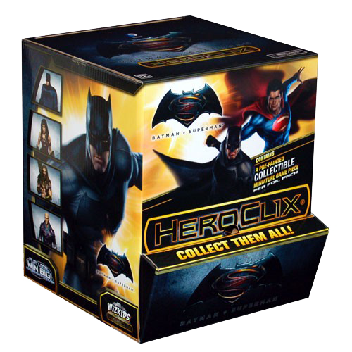 DC HeroClix - Batman vs Superman - Dawn of Justice Gravity Feed imagine