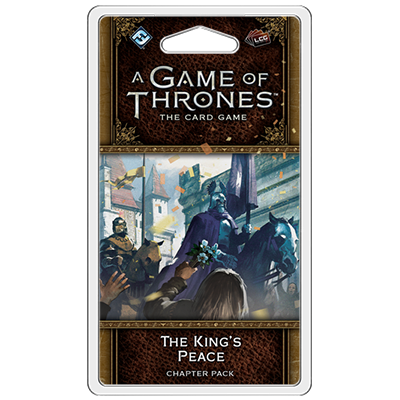 A Game of Thrones: The Card Game (ediția a doua) – The King's Peace imagine
