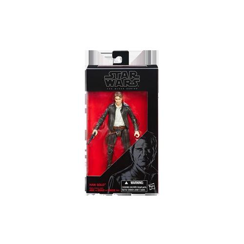 Star Wars VII Black Series Action Figure Wave 1: Han Solo imagine