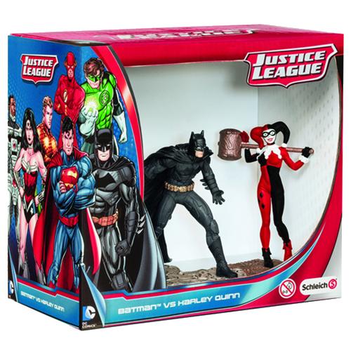DC Comics: Batman vs. Harley Quinn PVC Statue imagine