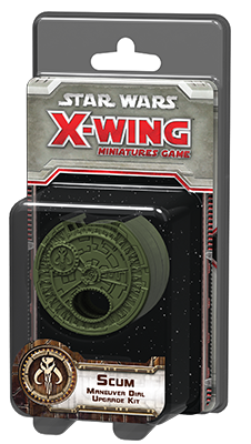Star Wars: X-Wing - Scum Maneuver Dial Upgrade Kit