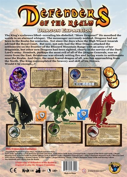 Defenders of the Realm: The Dragon Expansion - 1