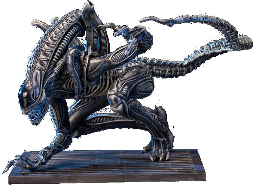 Aliens: Alien Warrior Drone ARTFX + Statue imagine