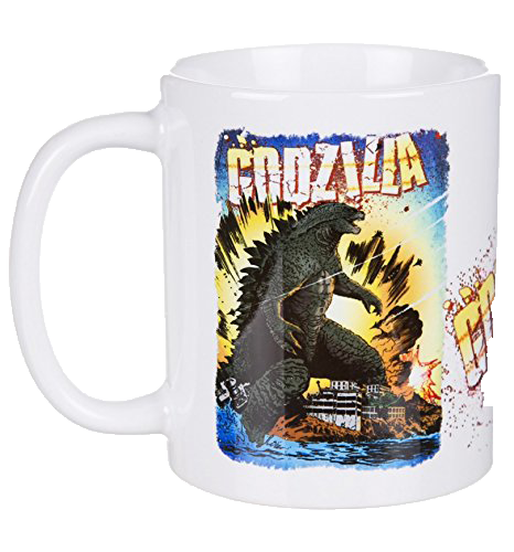 Cană Godzilla: Comic imagine