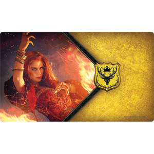 A Game of Thrones: The Card Game Play Mat - The Red Woman imagine