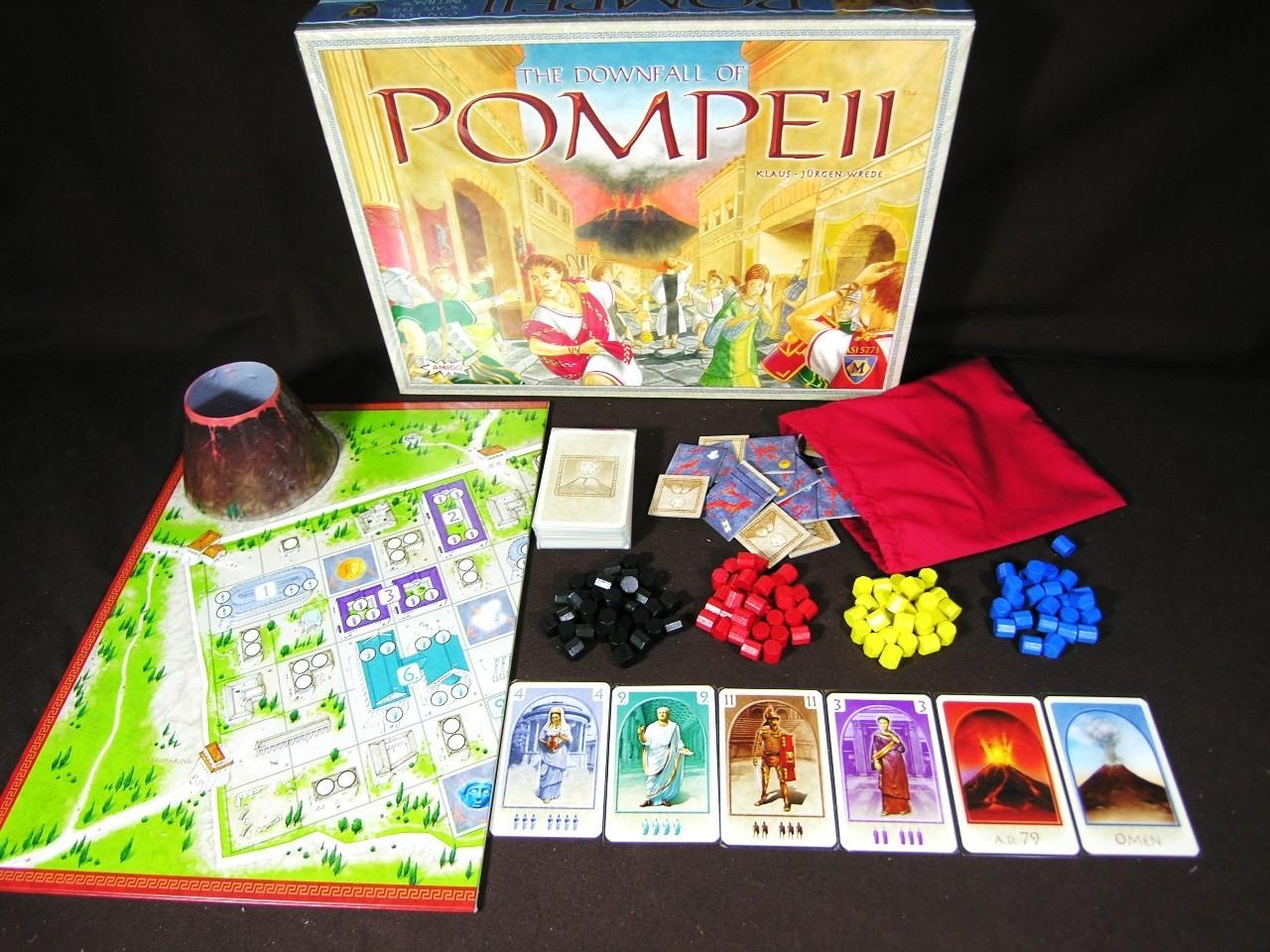 The Downfall of Pompei (ediția a doua)