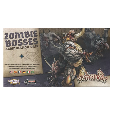 Zombicide: Black Plague Zombie Bosses Abomination Pack imagine
