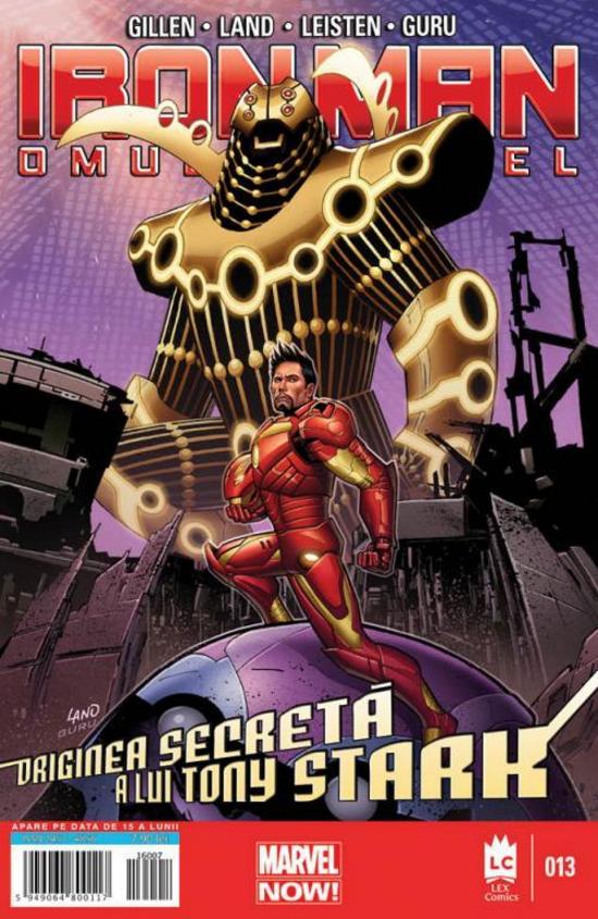Iron Man 13 (limba română) imagine