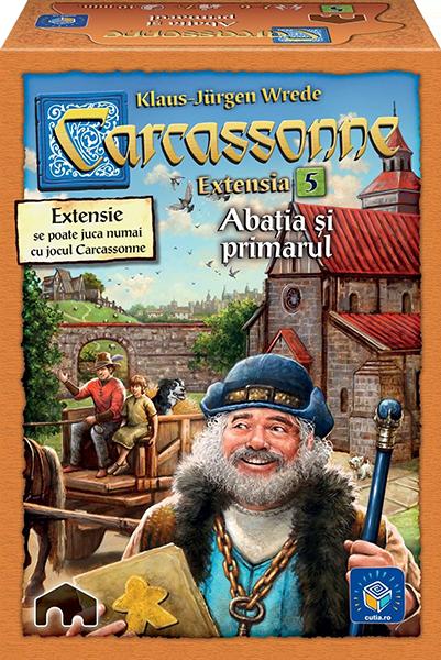 Carcassonne: Abatia si primarul