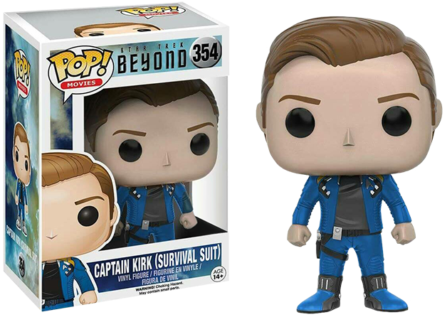 Funko Pop: Star Trek Beyond - Captain Kirk Survival Suit