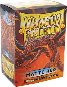 Sleeve-uri Dragon Shield Matte Sleeves 100 Bucati Galben - 10