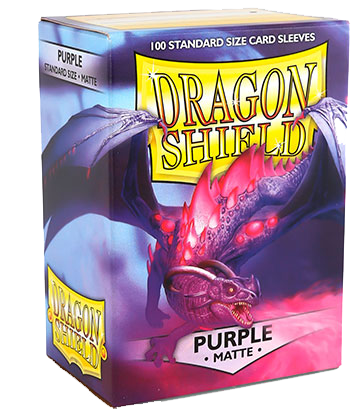 Sleeve-uri Dragon Shield Matte Sleeves 100 Bucati Galben - 12