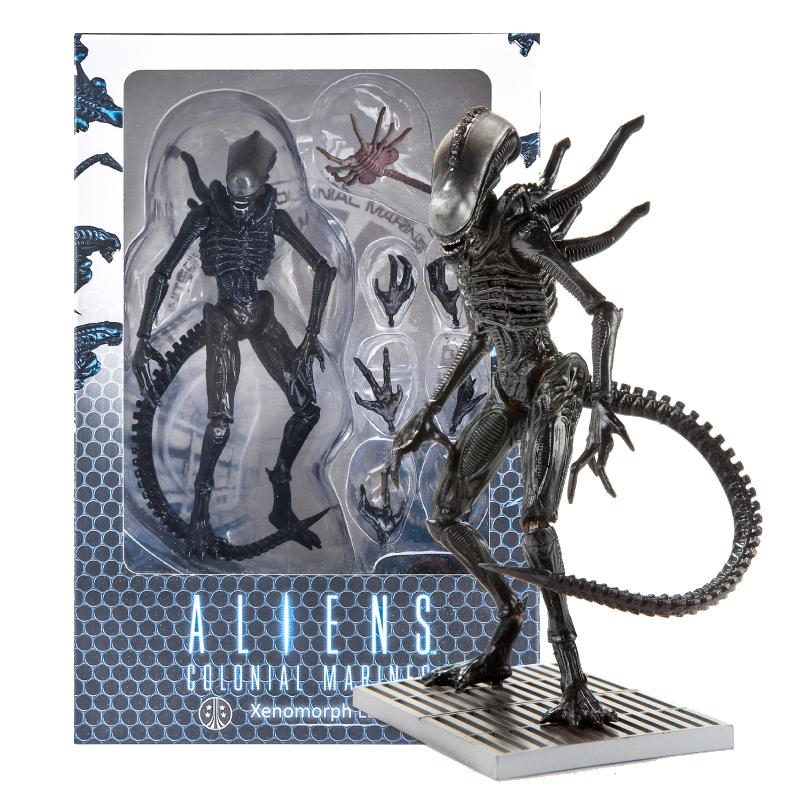 Aliens: Figurină Xenomorph Lurker imagine
