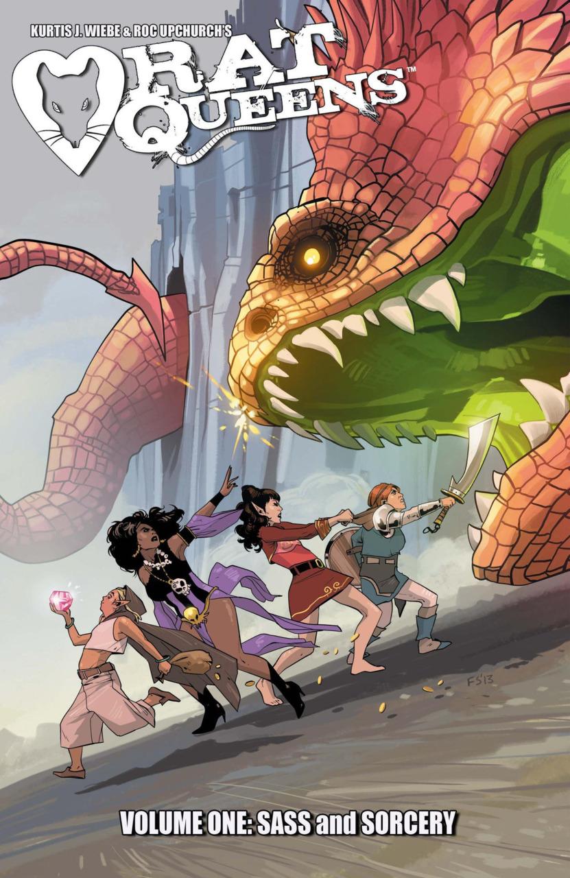 Rat Queens TP Vol 01 Sass & Sorcery