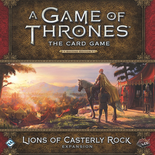 A Game of Thrones: The Card Game (ediția a doua) – Lions of Casterly Rock imagine