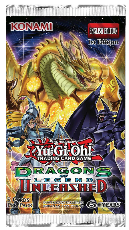 Yu-Gi-Oh!: Dragons of Legend Unleashed - Booster Pack imagine