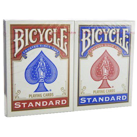 Bicycle: Cărți de joc standard (două pachete) imagine