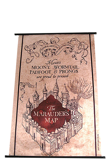 Poster - Harry Potter: Marauder´s Map imagine