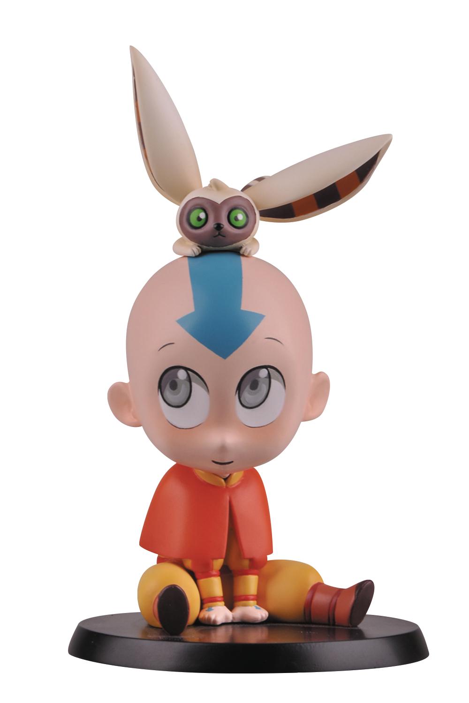Avatar The Last Airbender - Chibi Avatar Aang PVC Figurine imagine