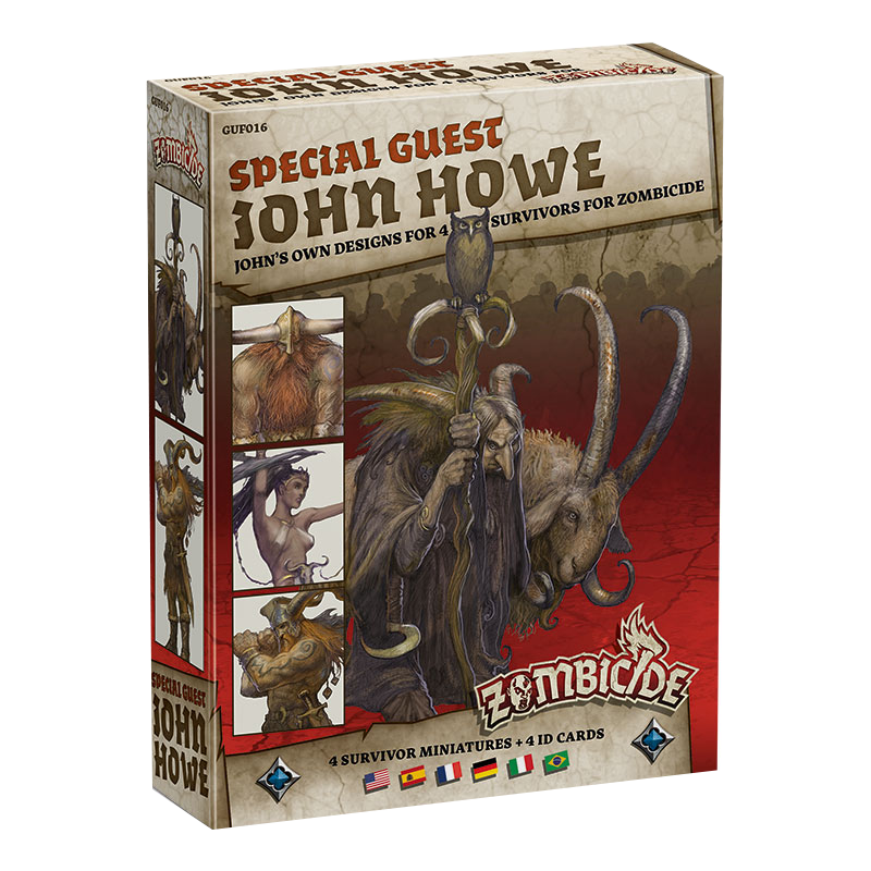 Zombicide: Black Plague - John Howe Special Guest imagine