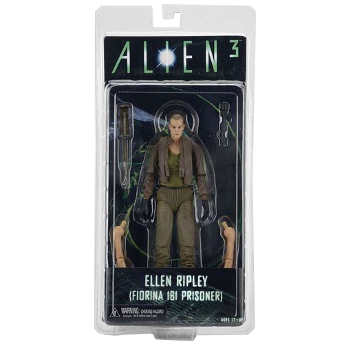 Aliens Series 8 Deluxe Action Figures - Alien 3 Ripley Bald Prisoner imagine