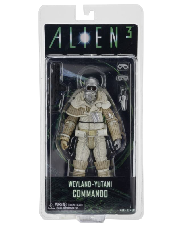 Aliens Series 8 Deluxe Action Figures - Weyland Yutani Commando imagine