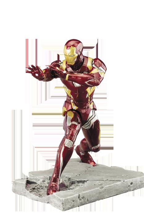 Captain America Civil War: Iron Man Mark 46 Artfx+ Statue imagine
