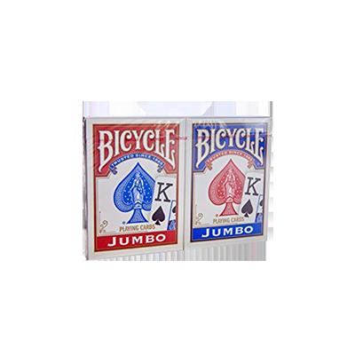 Bicycle: Cărți de joc Jumbo (două pachete) imagine