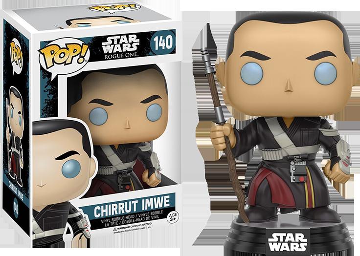 Funko Pop: Star Wars - Rogue One - Chirrut Imwe