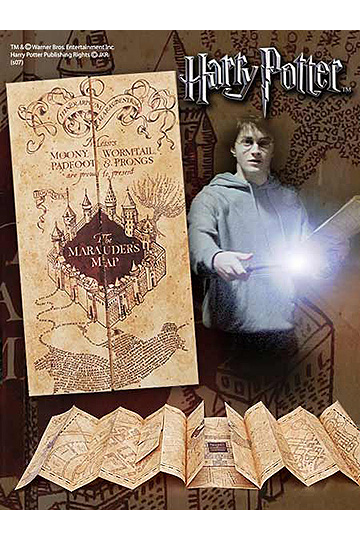 Harry Potter: Replica 1/1 Marauder´s Map imagine