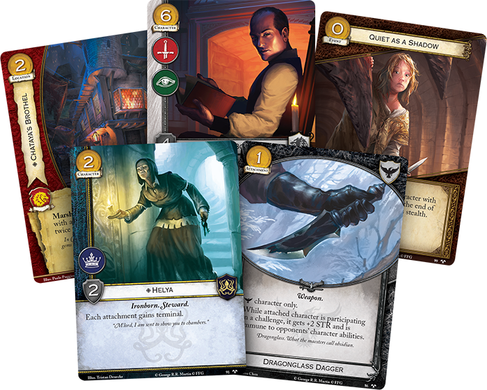 A Game of Thrones: The Card Game (ediția a doua) - Ghosts of Harrenhal imagine