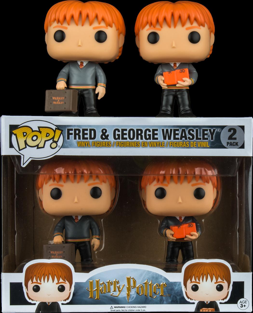 Funko Pop: Harry Potter - Fred & George Weasley imagine