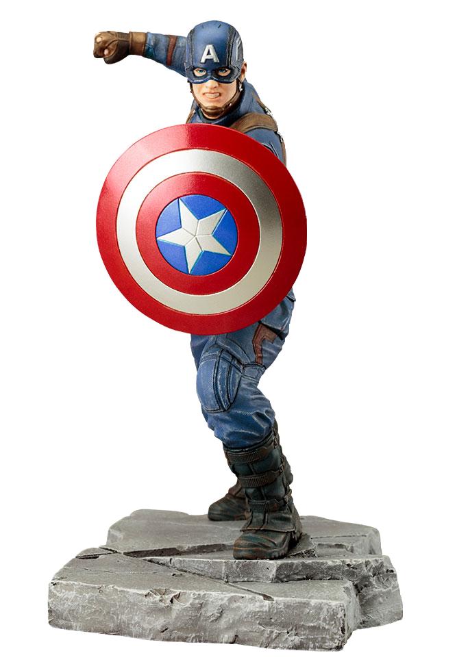Captain America Civil War: Captain America Artfx+ Statue imagine