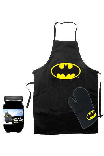 Batman: Șorț și mănușă de bucătărie Logo imagine