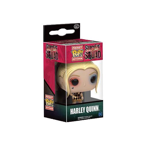 Breloc Funko Pop: Harley Quinn în rochie (Suicide Squad)